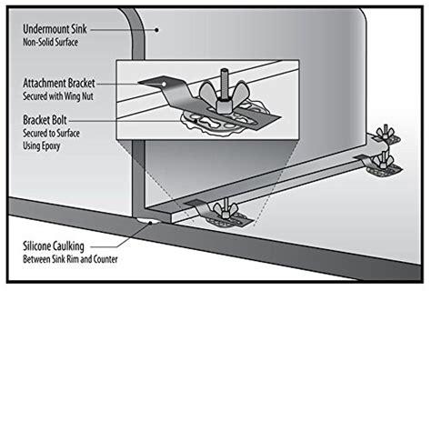 kitchen sink brackets tonxi undermount sink fasteners for kitchen sink 2592