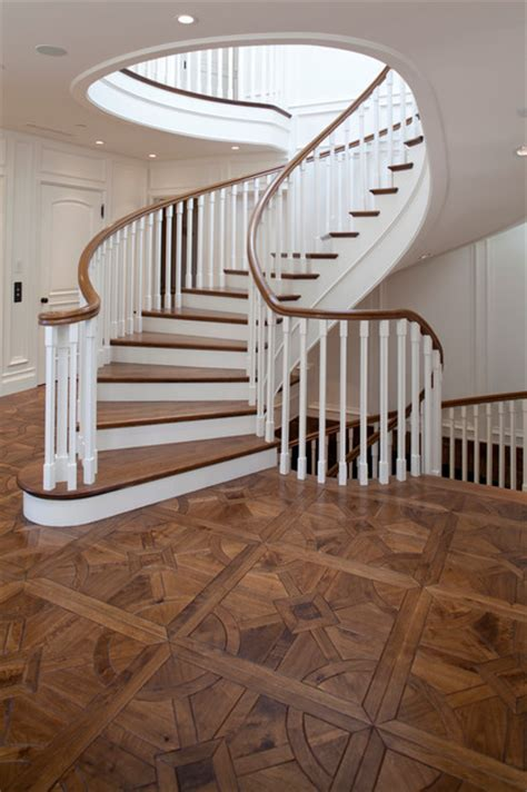 parquet traditional staircase orange county