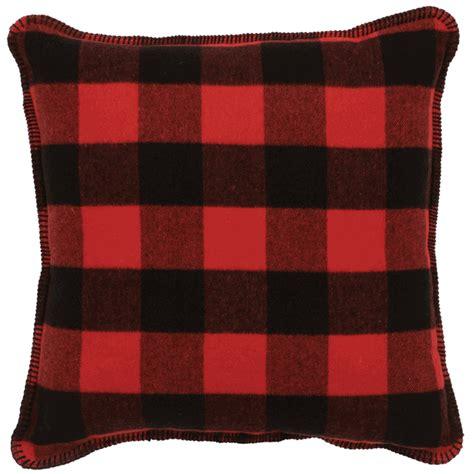buffalo plaid pillow
