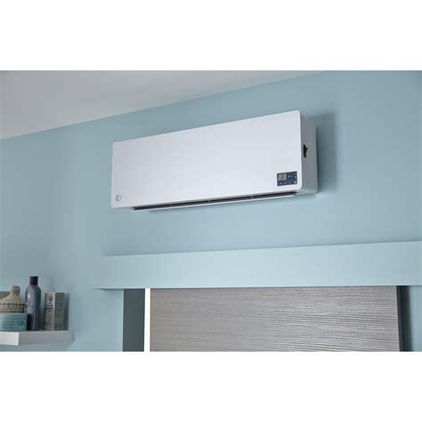 chauffage electrique pour salle de bain radiateur soufflant salle de bain fixe 233 lectrique equation club 1800 w leroy merlin