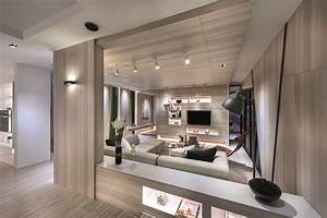 Modern luxury meets space-saving design in this ...