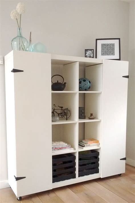 Kallax Ikea Hack by Ikea Hack Expedit To Quot Hide Quot The Homeschool Things For A