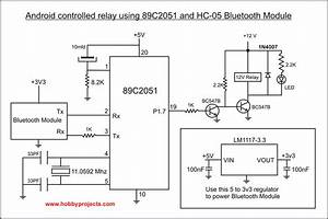 Android Bluetooth Remote Controlled Relay Project Using