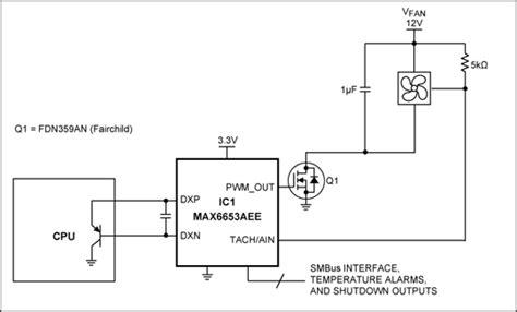 Circuit Converts Pwm Fan Drive Linear Reduces