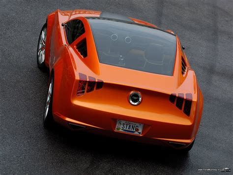 Ford Mustang Giugiaro Concept 2006 Ford Mustang Ford
