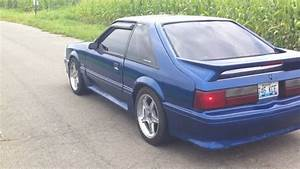 1992 mustang gt exhaust - YouTube