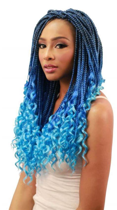 exotic box braids   crave