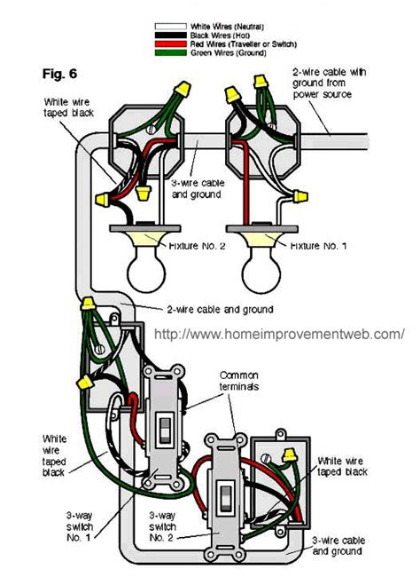 1 3 Way Light Switch Wiring Diagram by 2 Lights One Switch Diagram Switches 2 Lights Line In