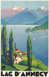 15 Beautiful French Art-deco Travel Posters By Roger Broders