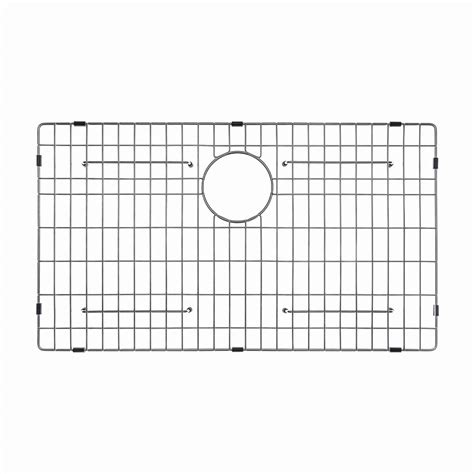 30 x 16 sink grid kraus 30 in x 16 in bottom sink grid in stainless steel