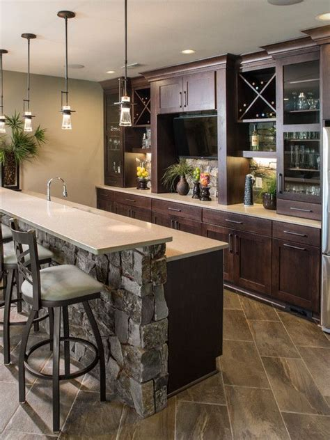 30 Stylish Contemporary Home Bar Design Ideas  Man Cave