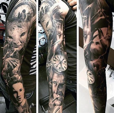 top   sleeve tattoos  men cool designs  ideas