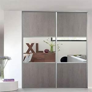 Porte Coulissante Miroir Sur Mesure : d couvrez form 1 porte de placard coulissante valla ~ Premium-room.com Idées de Décoration