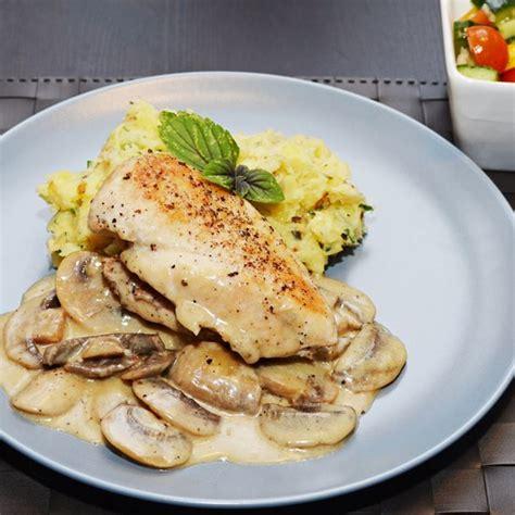 recette blancs de poulet sauce suprême
