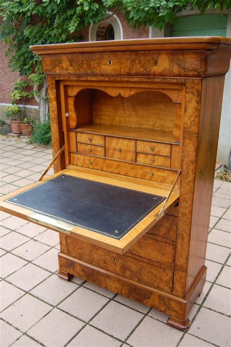 secr 233 taire louis philippe en noyer antiques furniture antique furniture