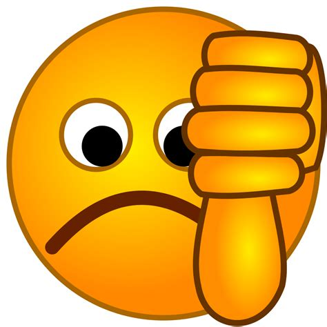 Image result for thumbs down