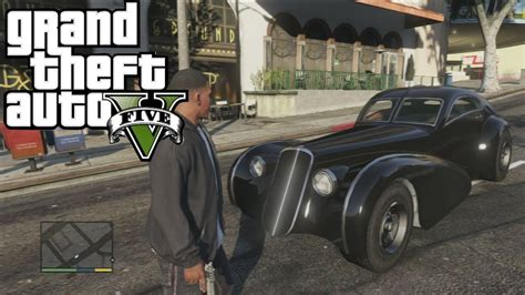 Gta 5 Hd Drive A Rare Car The Truffade Z-type / Ps3 1080p