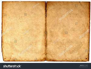 Old Blank Book Open On Both Stock Photo 9379069 - Shutterstock