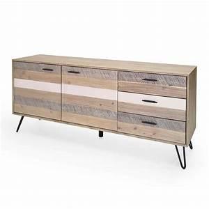 Sideboard 180 Breit : sideboard dalby akazie massiv 180cm breit ~ Watch28wear.com Haus und Dekorationen