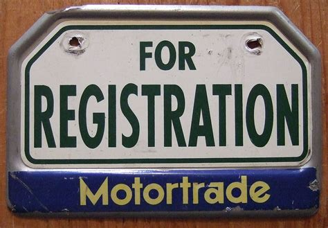 Philippines Motorcycle Plate, Dealer Perhaps