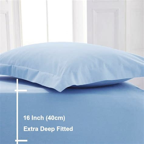 egyptian cotton extra deep fitted sheets sleep and beyond