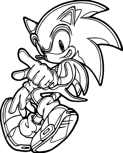 Sonic Drawing Pictures at GetDrawings | Free download
