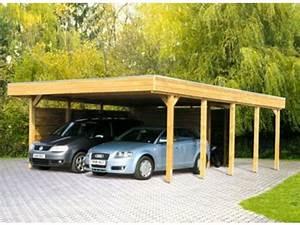 Carport Avec Abri : carport double avec atelier id554 contact france abris ~ Melissatoandfro.com Idées de Décoration