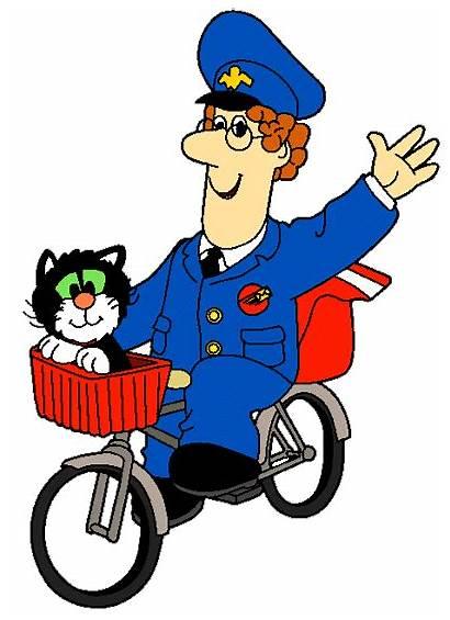 Postman Pat Cartoon Clipart Clip Cliparts Characters