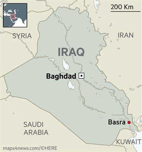 Basra Iraq Map Location