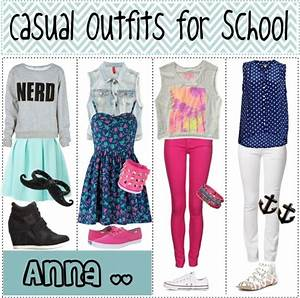 U0026quot;Casual Outfits for Schoolu0026quot; by teenagertips liked on Polyvore - Bobbiestyle