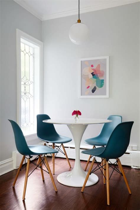 van teal table ls pushing the boundaries in a chicago home tulip table