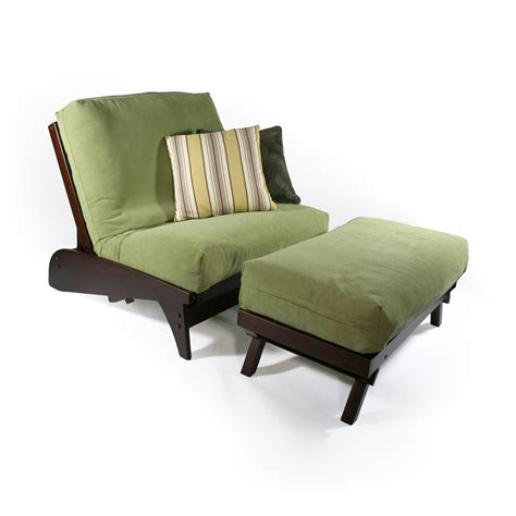 strata furniture carriage dillon chair and ottoman futon