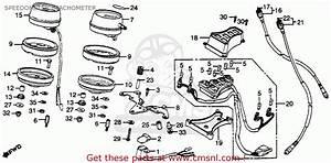 Honda Gl500 Silver Wing 1982 Usa Speedometer    Tachometer