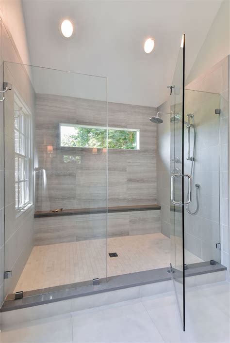 exciting walk  shower ideas    bathroom