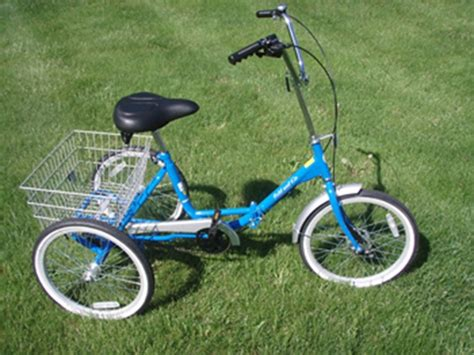 Fold And Go Single Speed Trike