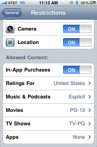 how to set parental controls on iphone 301 moved permanently