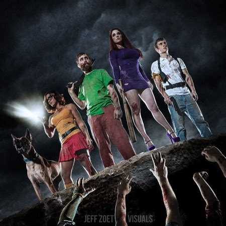 scooby doo zombie apocalypse cosplay console penguins moar decide portals nerdy bits gen which monsters zombies taught humans zoet jeff