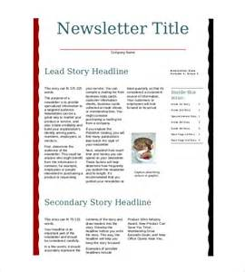 Free Business Newsletter Template Downloads
