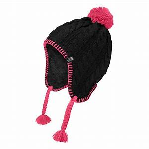 The North Face Girls Fuzzy Earflap Beanie