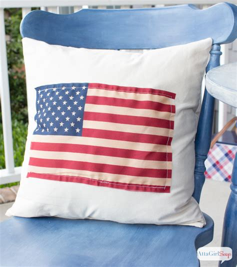 american flag pillow diy american flag pillow atta says