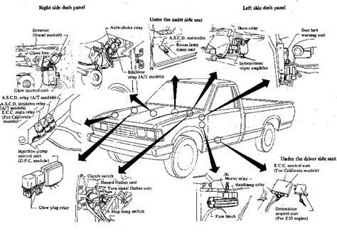 Toyota Pickup Vacuum Diagram Wiring Fuse Box