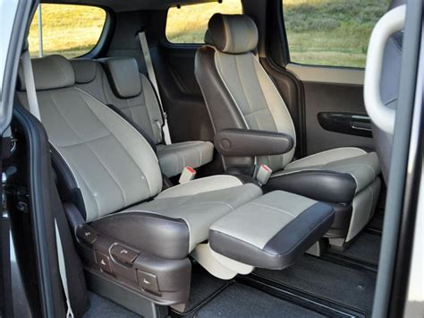 minivan  reclining seats   car reviews