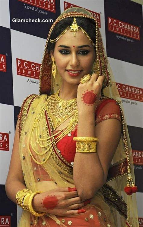 hasleen kaur for p c chandra jewellers http