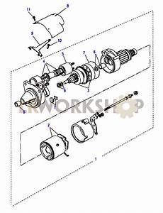 Starter Motor Valeo - 200tdi