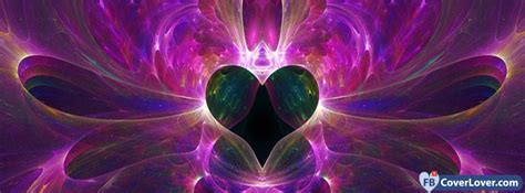 abstract artistic purple heart abstract artistic facebook