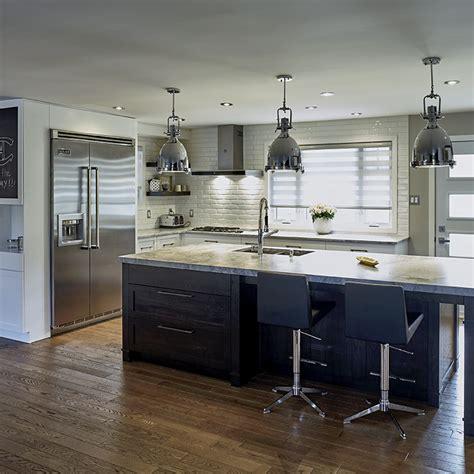 cuisine contemporaine en bois cuisines beauregard cuisine réalisation 348 cuisine