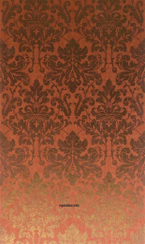 tapeten muster metallic im neo barock stil  kaufen