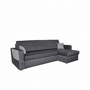 L Sofa Mit Schlaffunktion : ecksofa linea couch eckcouch sofa mit schlaffunktion und zwei bettkasten ottomane universal l ~ Frokenaadalensverden.com Haus und Dekorationen