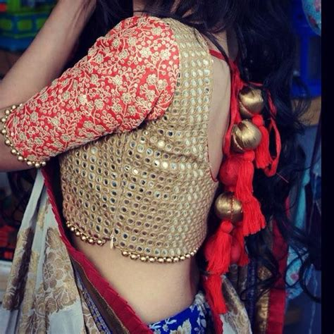 latest beadwork blouse designs catalog