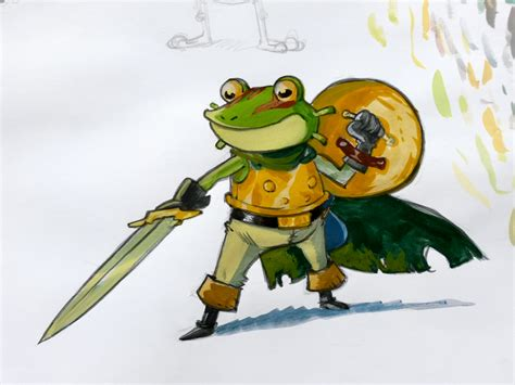 Frog Chrono Trigger By Cromou On Deviantart